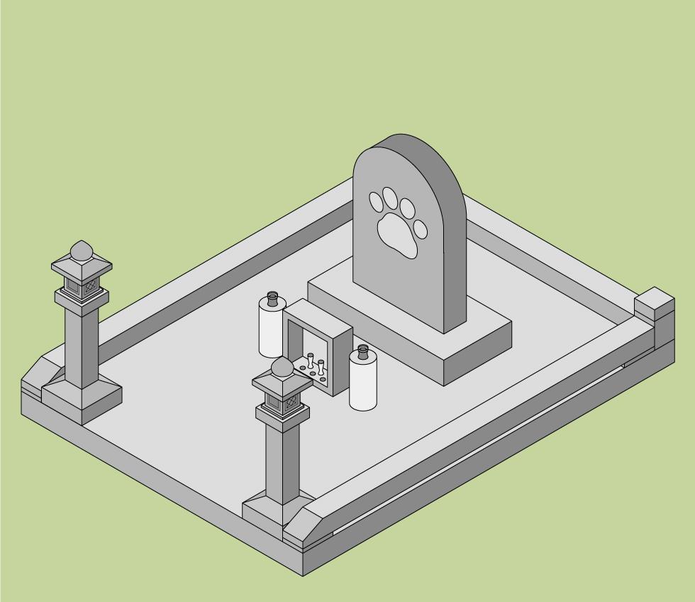 ペットの墓の建て方 ペット霊園に建てる