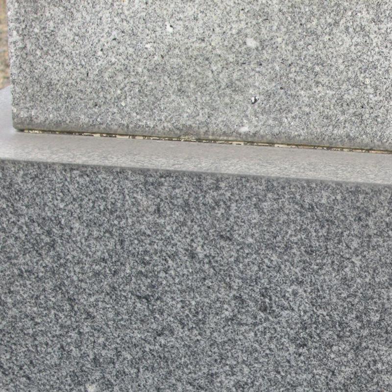 萩石材 お墓の目地コーキング
